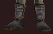 Iron Chainmail Boots (Equipped)