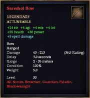 Sureshot Bow
