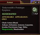 Tinkersmith's Prototype Eyepiece