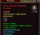 Tyrax's Bracelet of Polarity Reversal
