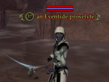 An Eventide proselyte (The Crypt of T'haen)