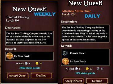 DailyweeklyAOMstatusgain