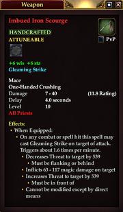 Imbued Iron Scourge