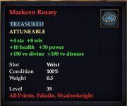 Mazkeen Rosary
