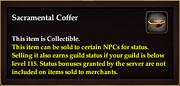 Sacramental Coffer coll item