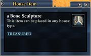 A Bone Sculpture