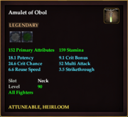 Amulet of Obol