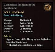 Combined Emblem of the Awakened