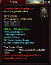 Cryptic Adroit Breastplate