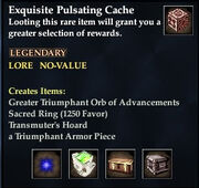 Exquisite Pulsating Cache