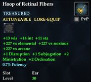Hoop of Retinal Fibers