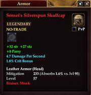 Sensei's Silverspun Skullcap