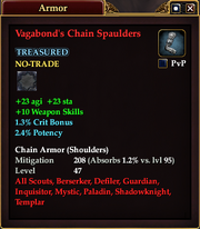 Vagabond's Chain Spaulders