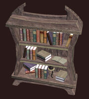 A Small Ornate Freeport Bookcase Placed