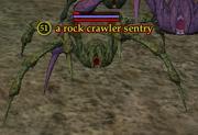 A rock crawler sentry