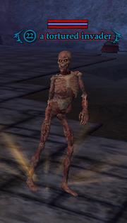 A tortured invader