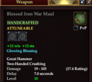 Blessed Iron War Maul