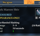 Dark Marrow Shiv
