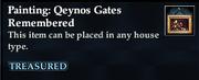 Painting- Qeynos Gates Remembered