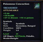 Poisonous Concoction