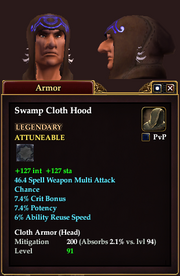 Swamp Cloth Hood