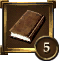 Achievement Icon darkbrown book 5