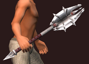 Jagged Mace from the Tangle (Equipped)