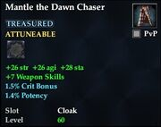 Mantle the Dawn Chaser