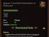 Qeynos' Classified Information of Bulkward