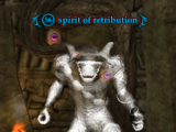Spirit of retribution
