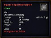Squire's Spirited Sceptre