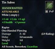Tin Sabre