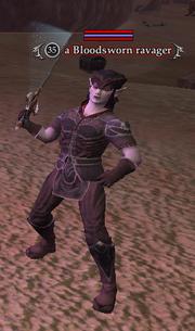 A Bloodsworn ravager