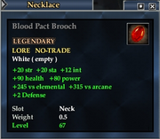Blood Pact Brooch