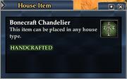 Bonecraft Chandelier