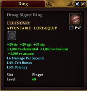 Droag Signet Ring