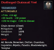Dustforged Chainmail Vest