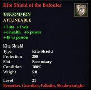 Kite Shield of the Befouler