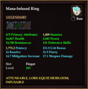 Mana-Infused Ring