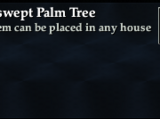 Windswept Palm Tree