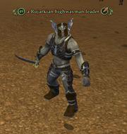 A Rujarkian highwayman leader