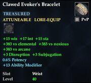 Clawed Evoker's Bracelet
