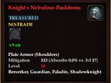 Knight's Nebulous Pauldrons