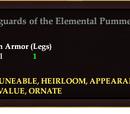 Legguards of the Elemental Pummeler