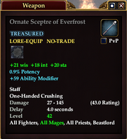 Ornate Sceptre of Everfrost