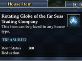 Rotating Globe of the Far Seas Trading Company