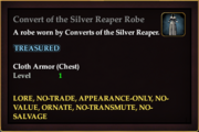 Convert of the Silver Reaper Robe