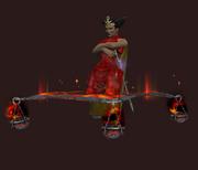 Flame-branded hadaman