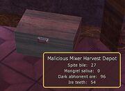 Malicious Mixer Harvest Depot