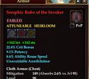 Seraphic Robe of the Invoker